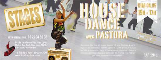 stage House Dance avec Pastora